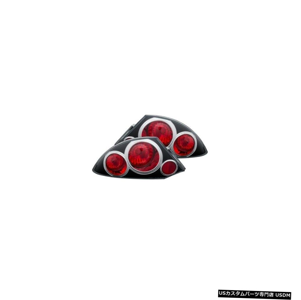 Tail light Anzo 221081テールライトアセンブリ2個(00-05三菱エクリプス用)NEW Anzo 221081 Tail Light Assembly 2pc For 00-05 Mitsubishi Eclipse NEW