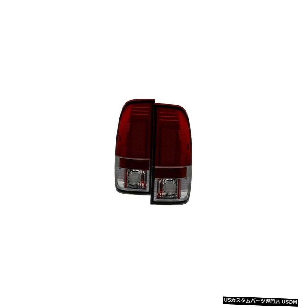Tail light スパイダー5003492 LEDテールライトブラック1999-2007フォードF-550スーパーデューティ2個 Spyder 5003492 LED Tail Lights Black For 1999-2007 Ford F-550 Super Duty 2pc NEW