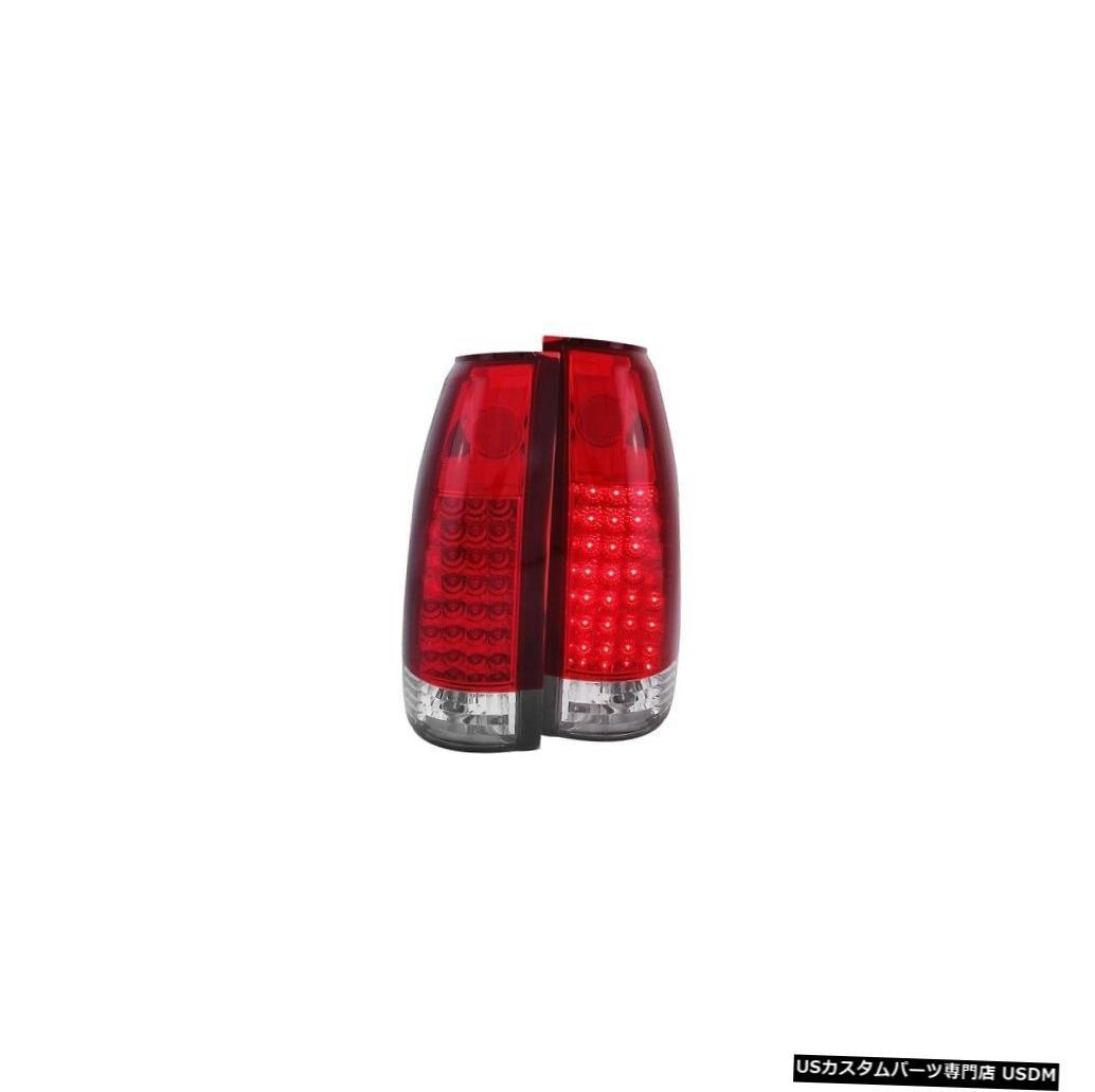 激安卸販売新品 車用品 バイク用品 >> パーツ ライト ランプ ブレーキ テールランプ Tail light Anzo 311004 99-00エスカレード用テールライトアセンブリLEDレッド Lens LED クリアレンズG2 Escalade 99-00 Clear Red Assembly For 高い素材 Light NEW G2