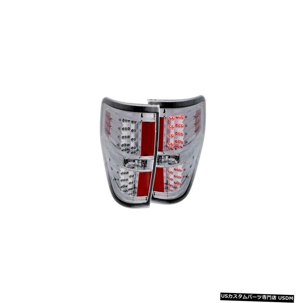 車用品 バイク用品 >> パーツ ライト ランプ ブレーキ 毎日続々入荷 テールランプ Tail light Anzo 311147 09-14フォードF150のテールライトアセンブリLED赤 Red LED NEW For ショッピング Light 09-14 Lens Ford 白のクリアレンズNEW Clear F150 White Assembly