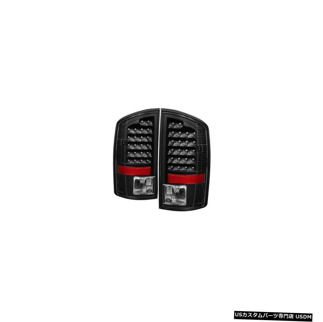 Tail light XTune 5072979 LEDテールライト2003-2006ダッジラム3500ブラック XTune 5072979 LED Tail Lights Black For 2003-2006 Dodge Ram 3500 NEW