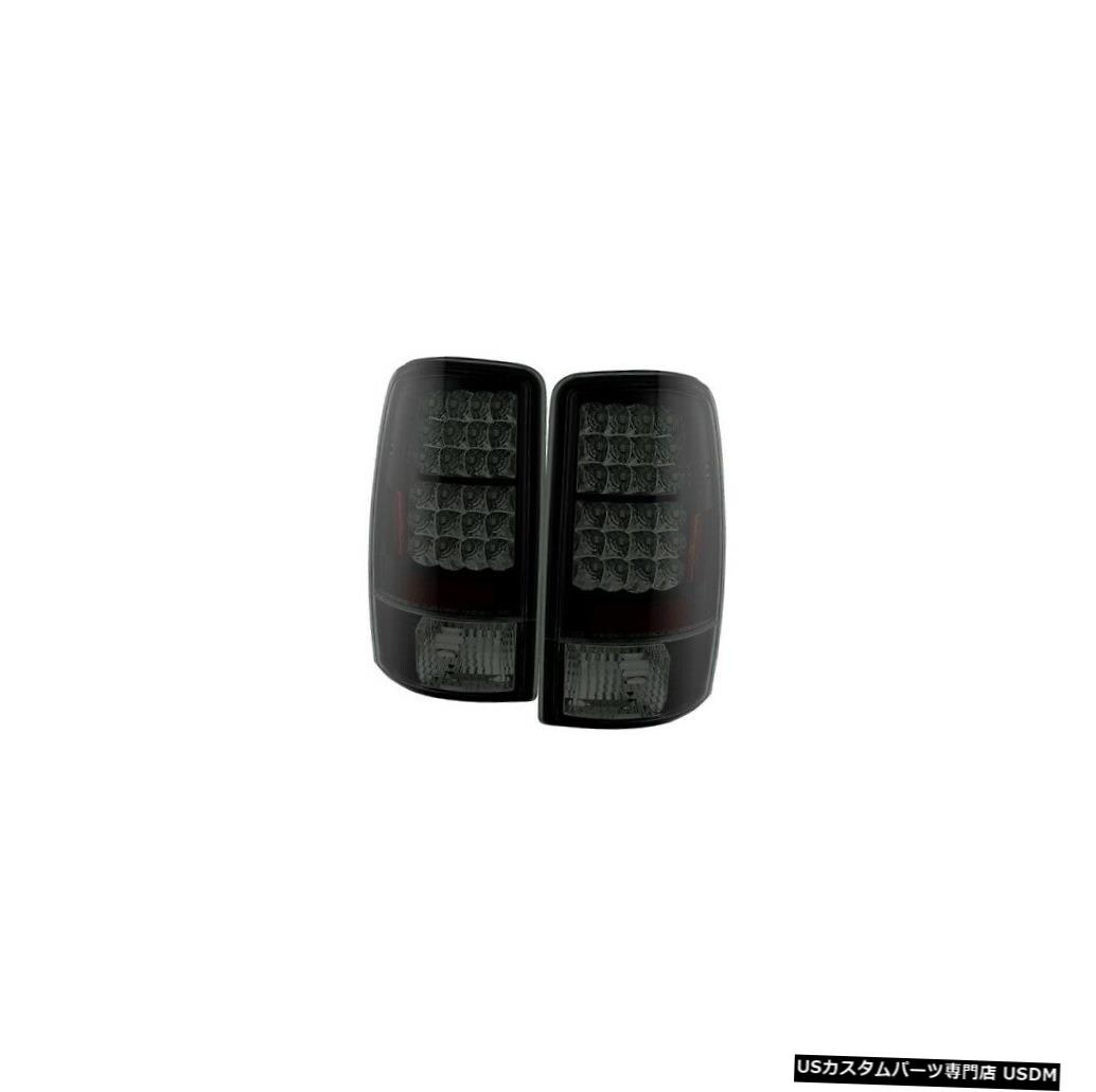 Tail light スパイダー5078001 LEDテールライトブラック2000-2006 GMCユーコンXL 1500 NEW Spyder 5078001 LED Tail Lights Black For 2000-2006 GMC Yukon XL 1500 NEW