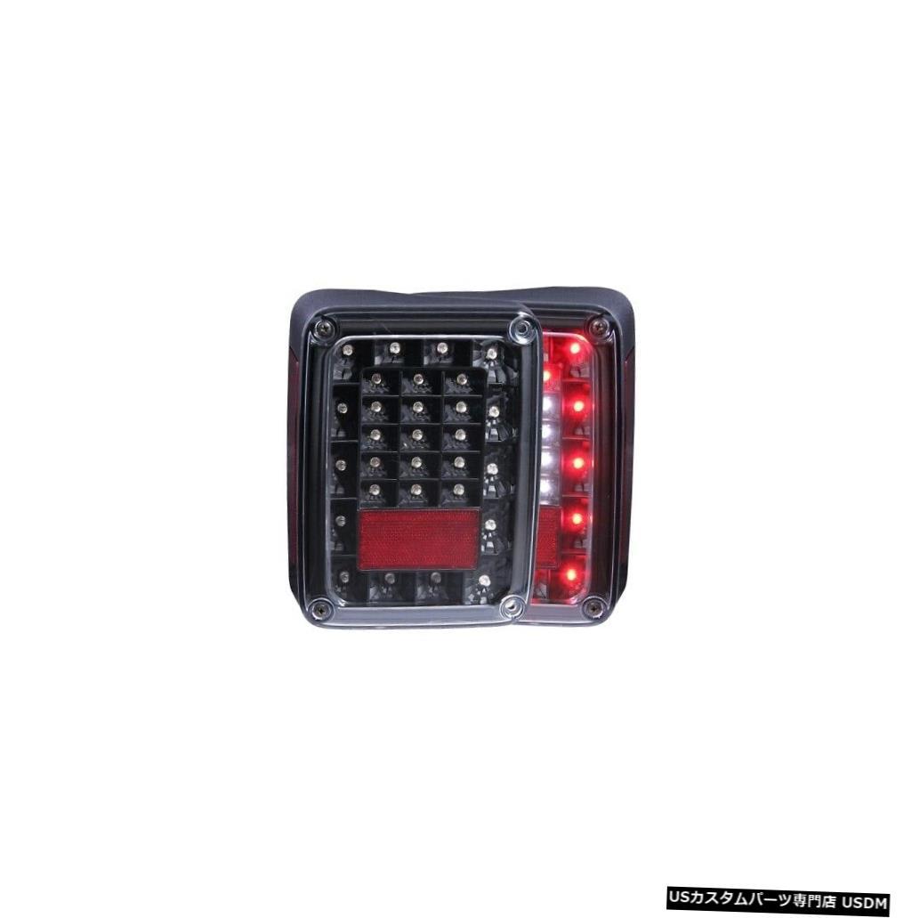 <title>車用品 バイク用品 >> パーツ ライト ランプ ブレーキ テールランプ Tail light Anzo 311212 18-18ジープラングラーJKのためのテールライトアセンブリLED 2pc新しい Light Assembly LED 送料0円 2pc For 18-18 Jeep Wrangler JK NEW</title>