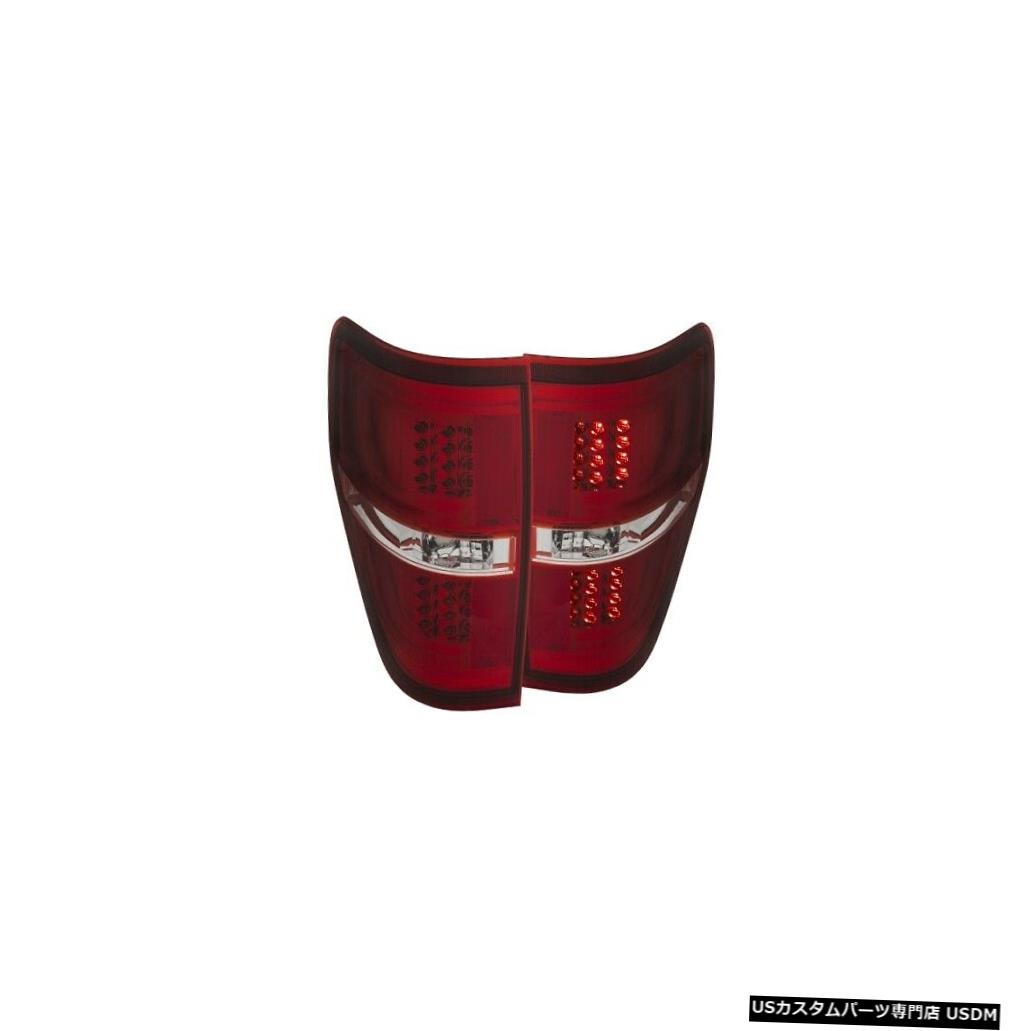Tail light Anzo 311260 09-13フォードF150のテールライトアセンブリLED赤/クリアレンズNEW Anzo 311260 Tail Light Assembly LED Red/Clear Lens For 09-13 Ford F150 NEW