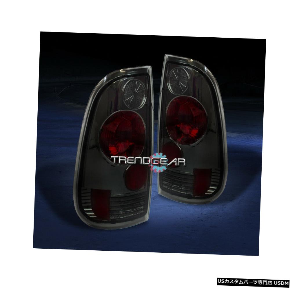 Tail light 1997-2003フォードF-150 F-250 F-350ピックアップテールブレーキライトランプスモーク左+右 1997-2003 FORD F-150 F-250 F-350 PICKUP TAIL BRAKE LIGHTS LAMPS SMOKE LEFT+RIGHT
