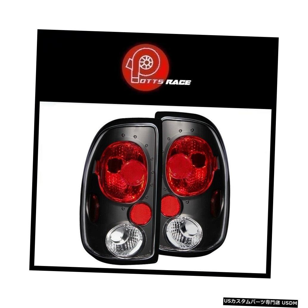 Tail light Anzo 211042-黒/赤のユーロテールライトがダッジダコタ1997-2004に適合 Anzo 211042 - Black/Red Euro Tail Lights Fits Dodge Dakota 1997-2004