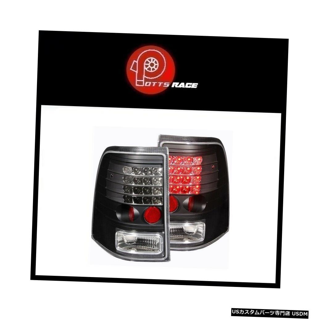 Tail light Anzo 311125-ブラックLEDテールライトはFord Explorer 2002-2005に適合 Anzo 311125 - Black LED Tail Lights Fits Ford Explorer 2002-2005
