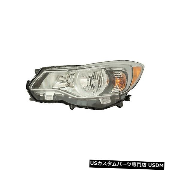 ヘッドライト SUBARU CROSSTREK 2016-2017 XV HYBRID LEFT HALOGEN HEADLIGHT HEAD LIGHT LAMPに適合 fits SUBARU CROSSTREK 2016-2017 XV HYBRID LEFT HALOGEN HEADLIGHT HEAD LIGHT LAMP