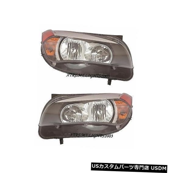 ヘッドライト BMW X1 X-1 2013-2015ハロゲンヘッドライトヘッドライトフロントランプ左右ペア BMW X1 X-1 2013-2015 HALOGEN HEADLIGHTS HEAD LIGHTS FRONT LAMPS LEFT RIGHT PAIR