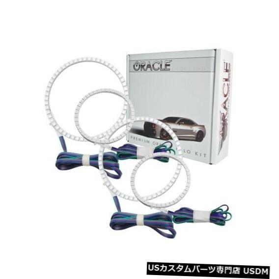 ヘッドライト Oracle Lights 2223-334 LEDヘッドライトHalo Kit ColorShiftコントローラーなしNEW Oracle Lights 2223-334 LED Headlight Halo Kit ColorShift No Controller NEW