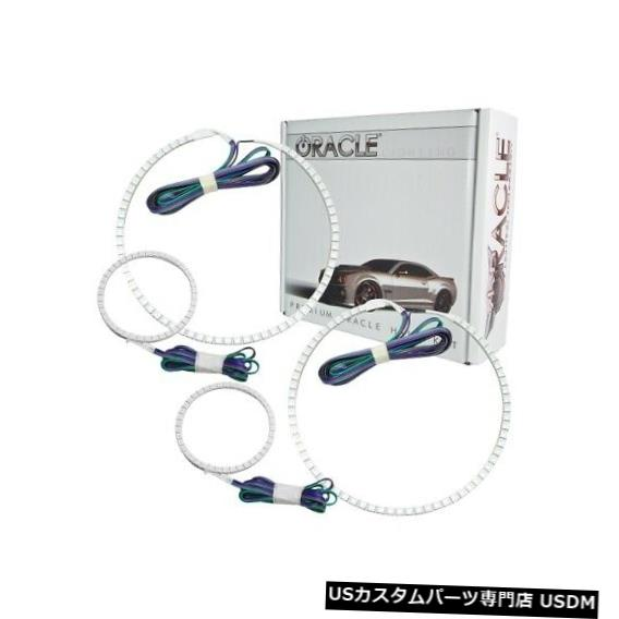 ヘッドライト Oracle Lights 2303-334 LEDヘッドライトHalo Kit ColorShiftコントローラーなしNEW Oracle Lights 2303-334 LED Headlight Halo Kit ColorShift No Controller NEW