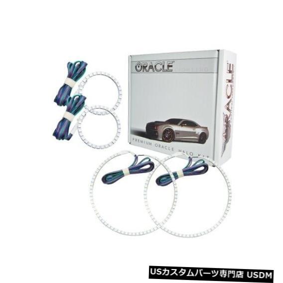 ヘッドライト Oracle Lights 2527-334 LEDヘッドライトHaloキットColorShiftコントローラーなしNEW Oracle Lights 2527-334 LED Headlight Halo Kit ColorShift No Controller NEW