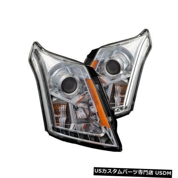 ヘッドライト Anzo 111307プロジェクターヘッドライトセットクリアレンズ10-15 SRX用NEW Anzo 111307 Projector Headlight Set Clear Lens For 10-15 SRX NEW