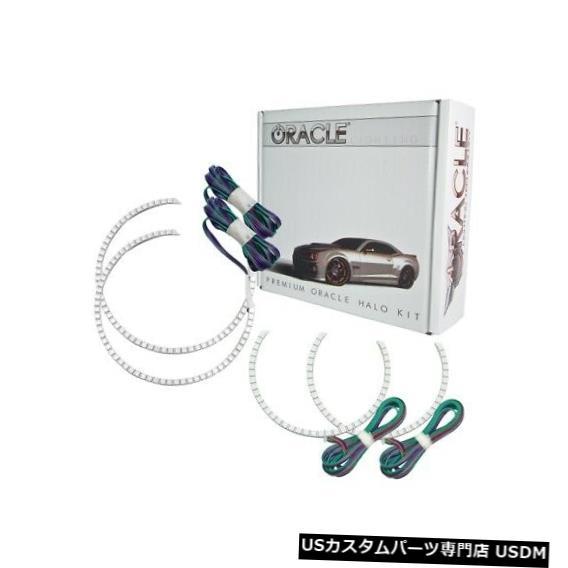 ヘッドライト Oracle Lights 2342-334 LEDヘッドライトHaloキットColorShiftコントローラーなしNEW Oracle Lights 2342-334 LED Headlight Halo Kit ColorShift No Controller NEW
