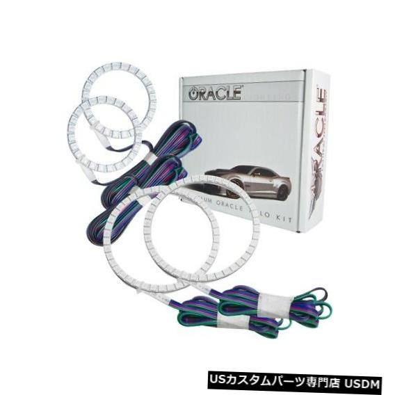 ヘッドライト Oracle Lights 2529-334 LEDヘッドライトHalo Kit ColorShiftコントローラーなしNEW Oracle Lights 2529-334 LED Headlight Halo Kit ColorShift No Controller NEW