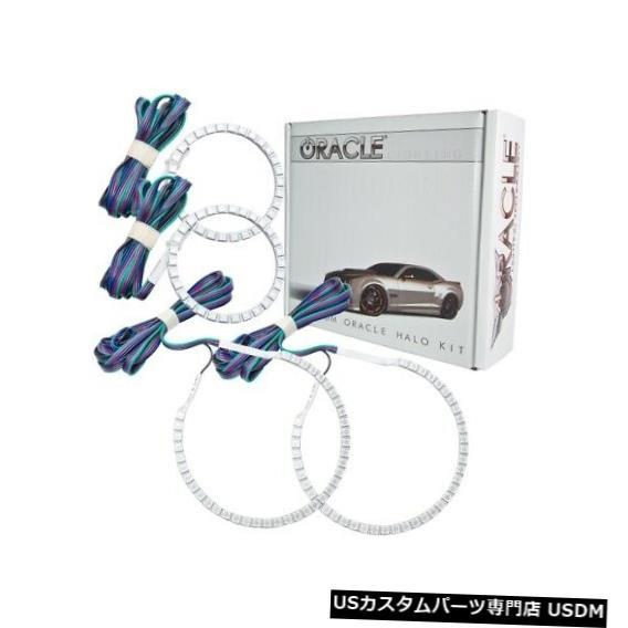 ヘッドライト Oracle Lights 2422-334 LEDヘッドライトHaloキットColorShiftコントローラーなしNEW Oracle Lights 2422-334 LED Headlight Halo Kit ColorShift No Controller NEW