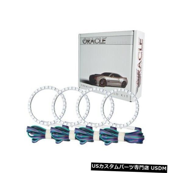 ヘッドライト Oracle Lights 2434-334 LEDヘッドライトHalo Kit ColorShiftコントローラーなしNEW Oracle Lights 2434-334 LED Headlight Halo Kit ColorShift No Controller NEW