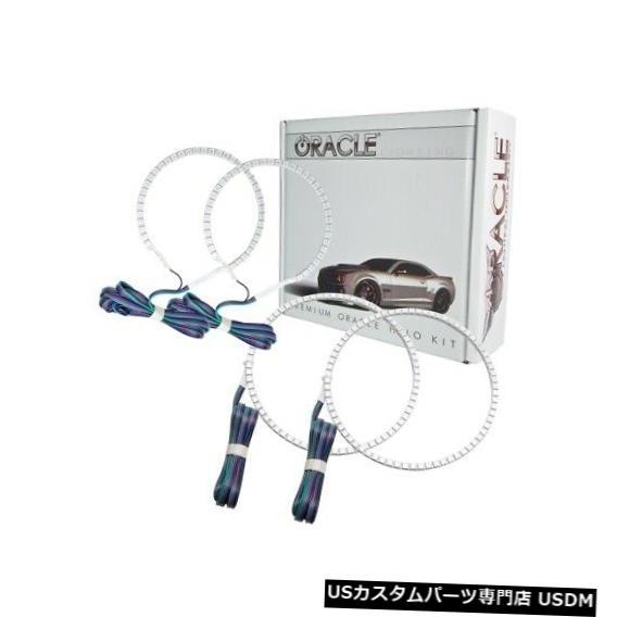 ヘッドライト Oracle Lights 2800-334 LEDヘッドライトHaloキットColorShiftコントローラーなしNEW Oracle Lights 2800-334 LED Headlight Halo Kit ColorShift No Controller NEW