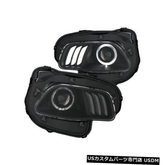ヘッドライト Anzo 111353プロジェクターヘッドライトセットクリア14-18ジープチェロキー用NEW Anzo 111353 Projector Headlight Set Clear For 14-18 Jeep Cherokee NEW