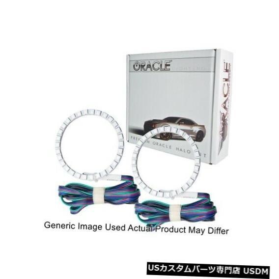 ヘッドライト Oracle Lights 2963-333 LEDヘッドライトHaloキットColorSHIFT 2.0 for 11-13 Scion tC Oracle Lights 2963-333 LED Head Light Halo Kit ColorSHIFT 2.0 for 11-13 Scion tC