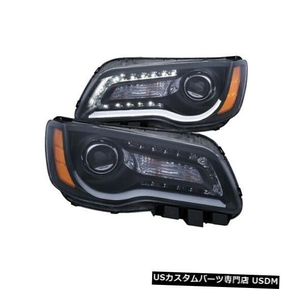 ヘッドライト Anzo 121495 11-14クライスラー300用プロジェクターヘッドライトセットNEW Anzo 121495 Projector Headlight Set For 11-14 Chrysler 300 NEW