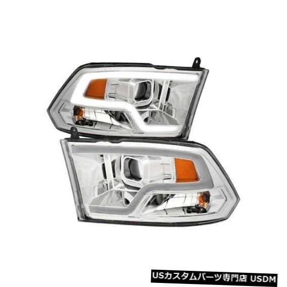 3500 3500 ヘッドライト 11-18 Headlight Ram NEW Set NEW 111405 Chrome For Ram Anzo Anzo 11-18 Projector 111405プロジェクターヘッドライトセットクロームfor