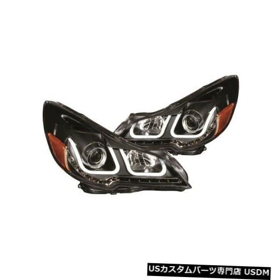ヘッドライト Anzo 111285プロジェクターヘッドライトセット2個(U-Bar付き、14-14スバルレガシー用)NEW Anzo 111285 Projector Headlight Set 2pc w/U-Bar For 14-14 Subaru Legacy NEW