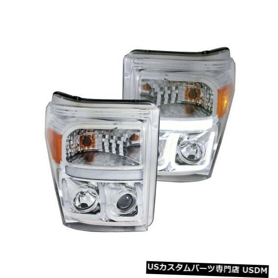 ヘッドライト Anzo 111291プロジェクターヘッドライトセットクリアレンズ、11-16 F550スーパーデューティ用NEW Anzo 111291 Projector Headlight Set Clear Lens For 11-16 F550 Super Duty NEW