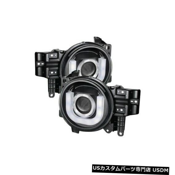 車用品 バイク用品 >> パーツ ライト ランプ ヘッドライト スパイダー5075314 DRL LEDプロジェクターヘッドライトブラック07-14トヨタFJクルーザーNEW Spyder Projector Black FJ Headlight NEW For 2020新作 07-14 Toyota Cruiser 5075314 限定品 LED