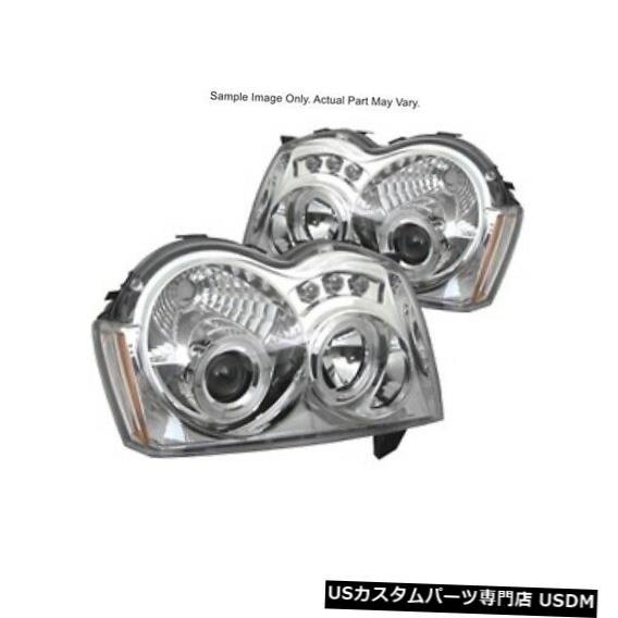 ヘッドライト スパイダー5011107グランドチェロキー05-07のプロジェクターヘッドライト Spyder 5011107 Projector HeadLights For Grand Cherokee 05-07