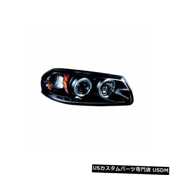 ヘッドライト IPCW CWS-316B2ブラックハウジングプロジェクターヘッドライトリング付き(ペア)インパラに適合 IPCW CWS-316B2 Black Housing Projector Headlight w/Rings (Pair) Fits Impala