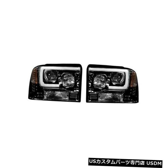 ヘッドライト Recon 264193BKCプロジェクターヘッドライトFord Superduty 05-07 F250 / F350 / F450 Recon 264193BKC Projector Headlights For Ford Superduty 05-07 F250/F350/F450