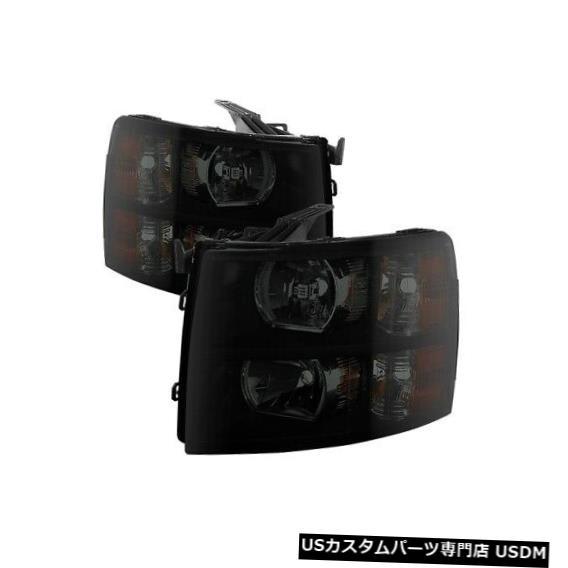 ヘッドライト XTune 9030260 Crystal Headlights Black For 2007-2014 Chevy Silverado 3500 HD NEW XTune 9030260 Crystal Headlights Black For 2007-2014 Chevy Silverado 3500 HD NEW