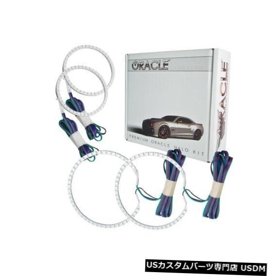 ヘッドライト Oracle Lights 2516-334 LEDヘッドライトHalo Kit ColorShiftコントローラーなしNEW Oracle Lights 2516-334 LED Headlight Halo Kit ColorShift No Controller NEW