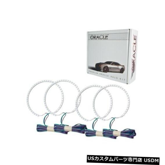 ヘッドライト Oracle Lights 3972-334 LEDヘッドライトHalo Kit ColorShiftコントローラーなしNEW Oracle Lights 3972-334 LED Headlight Halo Kit ColorShift No Controller NEW