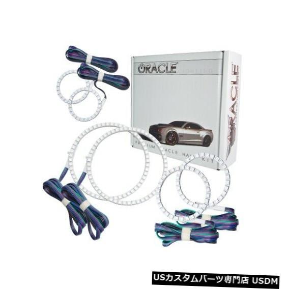 ヘッドライト Oracle Lights 2517-334 LEDヘッドライトHalo Kit ColorShiftコントローラーなしNEW Oracle Lights 2517-334 LED Headlight Halo Kit ColorShift No Controller NEW