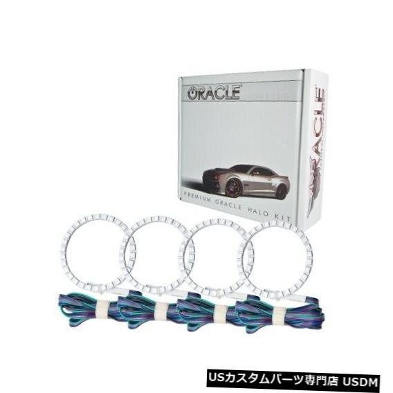 ヘッドライト Oracle Lights 2637-334 LEDヘッドライトHalo Kit ColorShiftコントローラーなしNEW Oracle Lights 2637-334 LED Headlight Halo Kit ColorShift No Controller NEW