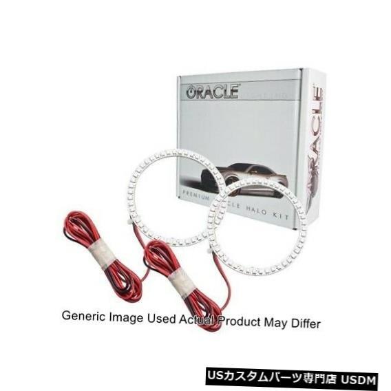 新素材新作 ヘッドライト Oracle Lights 2650-003 LEDヘッドライトHalo Kit Red for 2012-2017 Fiat 500 Oracle Lights 2650-003 LED Head Light Halo Kit Red for 2012-2017 Fiat 500, KQueenStore 3050de5e