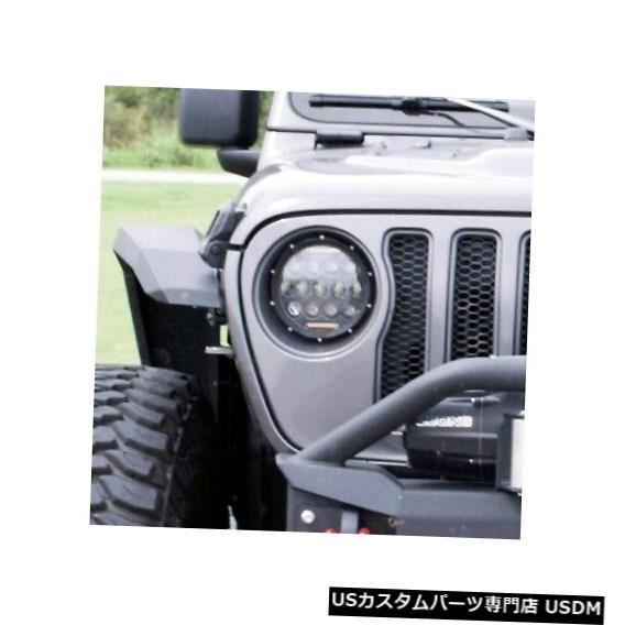 ヘッドライト アイアンクロスGP-JL70 18-19ジープJLの交換用LEDヘッドライト Iron Cross GP-JL70 Replacement LED Headlight For 18-19 Jeep JL