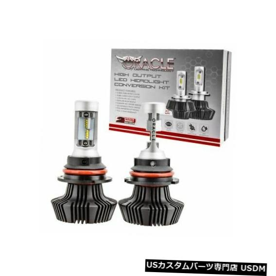 ヘッドライト Oracle 5241-001交換用9007 LEDヘッドライト電球キットホワイト6,000Kルーメン Oracle 5241-001 Replacement 9007 LED Headlight Bulb Kit White 6,000K Lumens