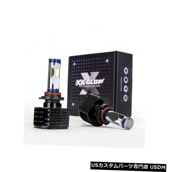 ヘッドライト XK Glow XK042003-HB4 LEDヘッドライト変換キットの交換用電球 XK Glow XK042003-HB4 LED Headlight Conversion Kit Replacement Bulbs