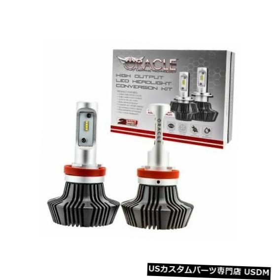 ヘッドライト ダッジチャージャー用Oracle 5235-001交換用H11 LEDヘッドライトバルブホワイト Oracle 5235-001 Replacement H11 LED Headlight Bulb White for Dodge Charger