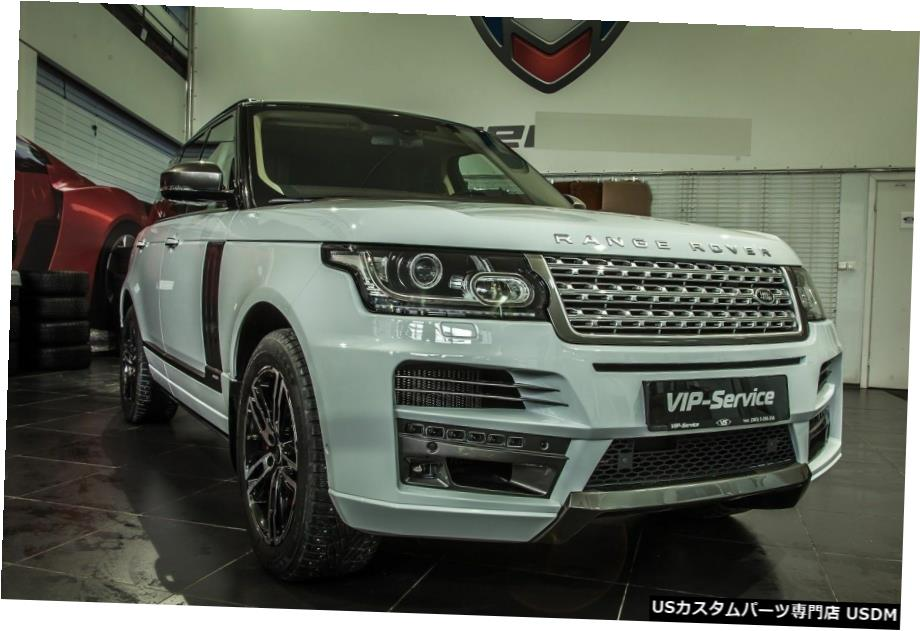 <title>車用品 正規品送料無料 バイク用品 >> パーツ 外装 エアロパーツ その他 RANGE ROVER VOGUE BODY KITフロントリアバンパー2012 - 2014 ST-スタイル L405 for KIT front rear bumper 2012 ST-style</title>
