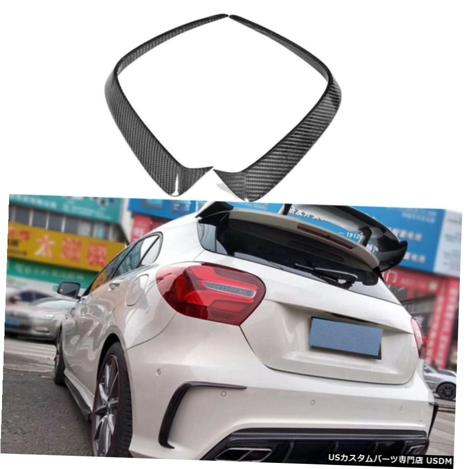 <title>車用品 バイク用品 >> パーツ 外装 エアロパーツ その他 カーボンリアバンパースプリッターエアベントトリムのためにメルセデスベンツW176 A200 A250 13-18 Carbon Rear Bumper Splitter Air Vent Trim For Mercedes 最安値に挑戦 Benz W176</title>