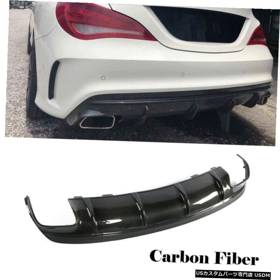 <title>車用品 バイク用品 >> パーツ 外装 エアロパーツ その他 カーボンファイバーリアバンパーディフューザーについてはBENZ W117 CLA200 CLA250 CLA45AMG 16-18 Carbon 感謝価格 Fiber Rear Bumper Diffuser For BENZ</title>
