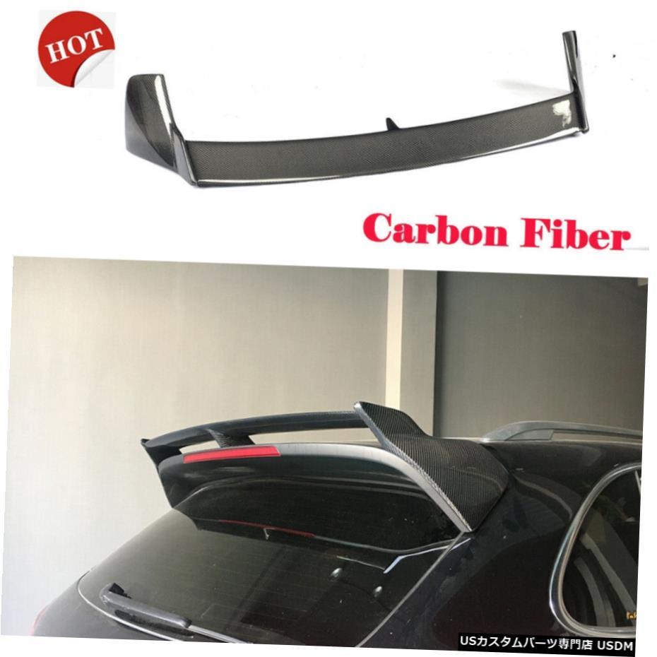 贅沢屋の エアロパーツ カーボンファイバーリアルーフSpolierトップウィンドウウィングフィット感のためのポルシェカイエン2015-2017 Carbon Wing Fiber Top Rear Roof Spolier Top Carbon Window Wing Fit For Porsche Cayenne 2015-2017, Y-LIVING:c1936b94 --- cranescompare.com