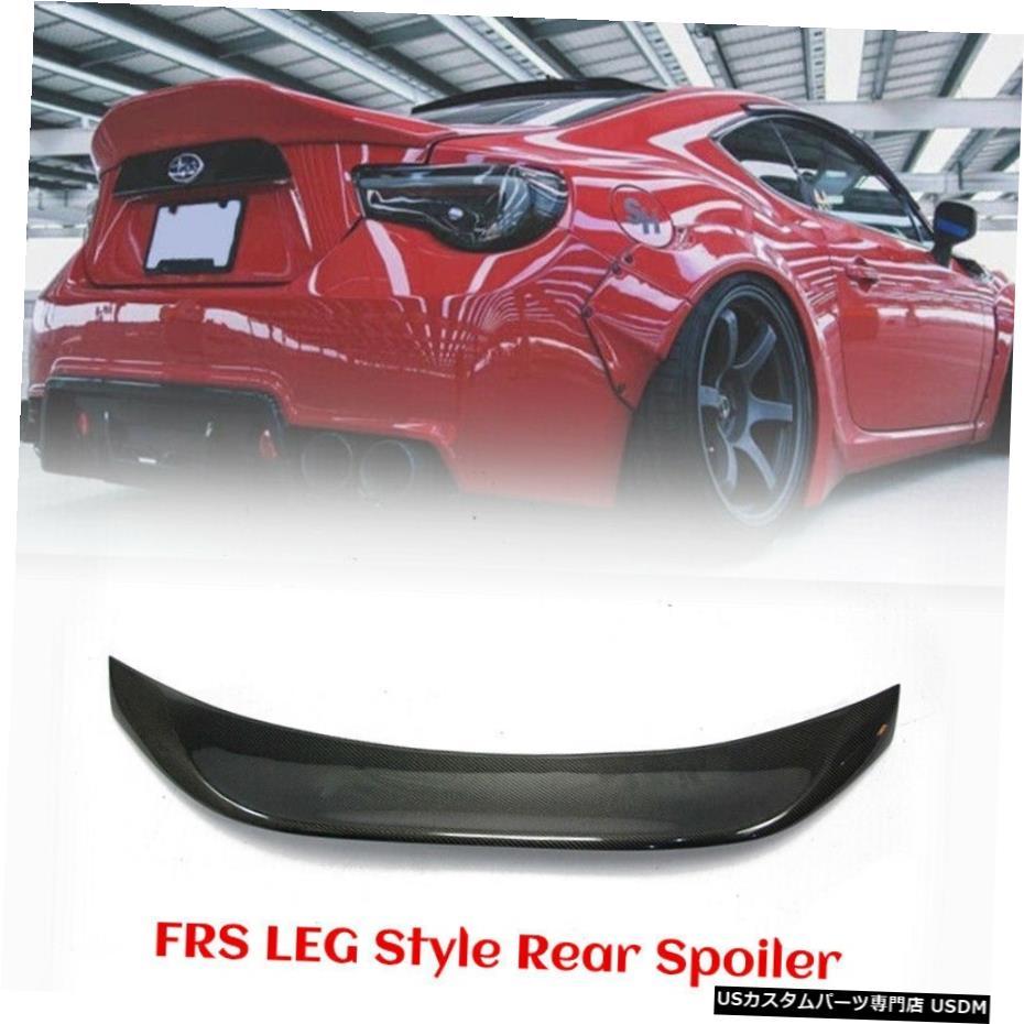 <title>車用品 バイク用品 >> パーツ 外装 エアロパーツ その他 トヨタBRZ FT86 GT86 FRS LEGスタイルリアダックビルブートスポイラーカーボンファイバーの場合 For Toyota 激安通販 BRZ LEG Style Rear Duckbill Boot Spoiler Carbon Fiber</title>