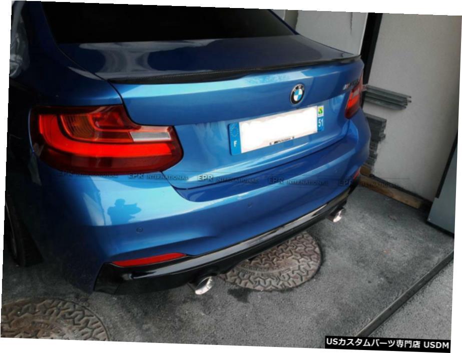 入荷中 エアロパーツ 14-17 Trunk BMW 2シリーズF22 M4用VSスタイルカーボンファイバーリアトランクスポイラーウイングリップ VS Style VS Carbon Fiber Lip Rear Trunk Spoiler Wing Lip For 14-17 BMW 2 Series F22 M4, レンタルドレス留袖しあわせ創庫:bf631b1d --- mail.ciabbatta.com.pl