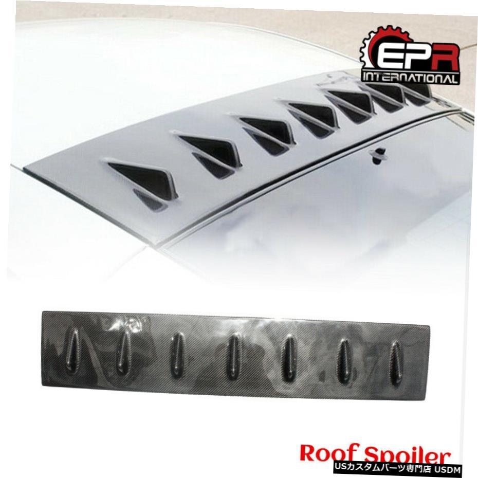 超美品の エアロパーツ Roof For 日産350Z Z33 VTXジェネレーターカーボンリアウィンドウルーフスポイラーウイングリップアドオンのために For Nissan Generator 350z z33 Vtx Generator Carbon Rear Window Roof Spoiler Wing Lip addon, JOYPOWER:4802ea95 --- pavlekovic.hr