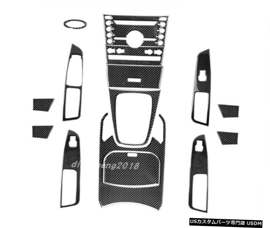 車用品 バイク用品 >> パーツ 外装 エアロパーツ その他 フォードエッジ2015から19のために車のトリムの実カーボンファイバーフル 内装 Real carbon 爆買い送料無料 fiber Edge Ford オリジナル the 2015-19 decoration Car For of Trim Full interior